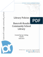 library policies nolting