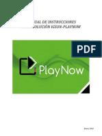 Manual PlayNow Esp 290115