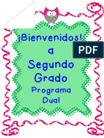 bienvenidos a segundo grado pd ii pdff