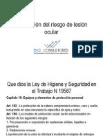Charla Prevencion Del Riesgo Lesion Ocular