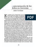 Cortázar Julio, Sobre La Exterminación de Los Cocodrilos en Auvernia