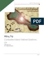 cumberland island hiking trip