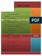 underarmour case analysis