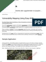 Vulnerability Mapping Using Easy AHP _ CBS UYGULAMA