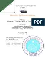 EEPROM Y CONTADORES DE DOS DÍGITOS