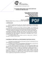 TRABALHANDO OS BIOMAS BRASILEIROS COM JOGOS DIDÁTICOS ATRAVÉS DO PIBID BIOLOGIA