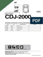 pioneer cdj 1000mk3 service manual repair guide