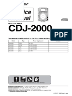 Pioneer Cdj-2000 Sm