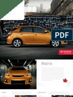 2010 MAtrix brochure