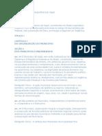 Lei Orgânica Do Município de Itajaí/SC