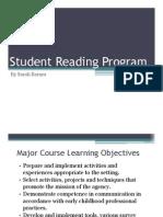 standard six reading program artifact