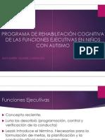 Presentación Rehabilitación de FE en Autismo 14Marzo2015