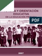 2007 Tutoria y Orientación Educación Primaria