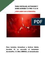 - Tutorial Para Instalar Adobe Acrobat Xi(2)