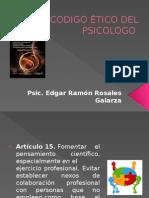 Código Ético de Psicologia