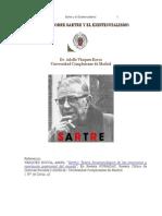 Ensayos Sobre Sartre y El Existencialismo Dr. Adolfo Vasquez Rocca -Libre