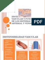 Distensibilidad vascular y funciones de los sistemas arterial.pptx