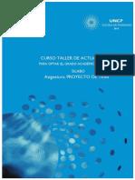 Silabo Proyecto de Tesis EPG-UNCP 2015 Adolfo gustavo CONCHA FLORES