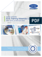Training Materials Catalog Carrier