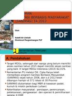 3. Tayangan Pedoman Sanimas 2013 Edit