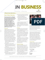 Dublin Chamber Newsletter | January 2010