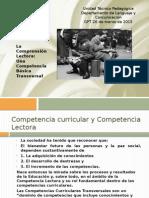La Comprensión Lectora Una Competencia Básica Transversal