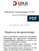 Intervencion Fonoaudiologica en TEA