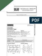 National Semiconductor CD40106BCN Datasheet