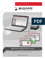 Sigma data center 2.0 manual