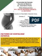 salud materno