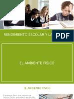 Rendimiento Escolar y Laboral