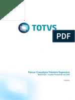 Parecer Consultoria Tributária Segmentos -TIB531- InVEST-ES - Crédito Presumido de ICMS