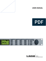 t.c. electronic M3000 User Manual