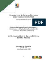 EMAG Acessibilidade de Governo Eletrônico - Cartilha Técnica V20