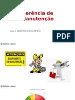Gerência de Manutenção_Definições