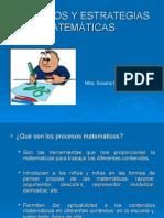 Procesos y Estrategias Matemáticas