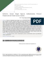 3 Kerberos Secure Single Sign on Authentication Libre
