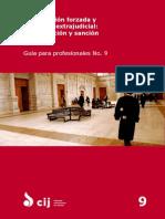Universal Desaparicio n Forzada y Ejecucio n Extrajudicial PG9 Publications Practitioners Guide Series 2015 SPA