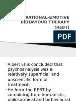 Rational-emotive Behaviour Therapy (Rebt)