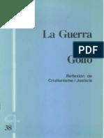 CJ 38, La Guerra Del Golfo, Reflexión de Cristianisme i Justicia