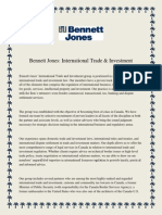 Bennett Jones International Trade & Investment