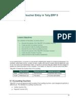 Voucher Entry in Tally