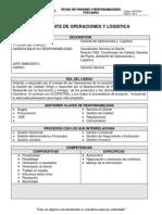 Ghfc6401- Gerente de Operaciones y Logistica