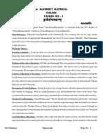 Jr. Material English(Sanskrit) Final