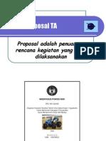 Contoh Proposal TA