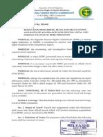 RHRC Resolution No. 2014-01