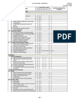 GMP Slaughter House Audit Checklist