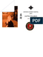 Defendo Combatives Jujitsu System Complete Syllabus
