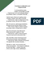 Poezie Un Batran Catre Fiul Sau