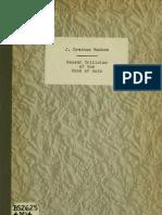 Recent Criticism of the  Book of Acts - J. Gresham Machen